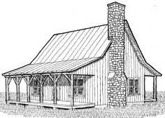free small cabin plans garden cottage f one level with loft