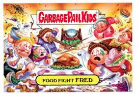 2016 topps garbage pail thanksgiving checklist set info