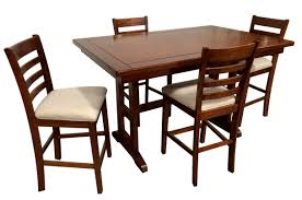 07 2358 5 pc trestle high dining set sears outlet