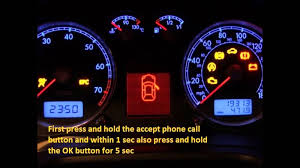 audi a6 2001 2015 how to reset service light indicator youtube