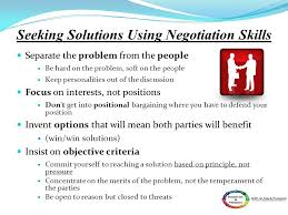 Seeking Negotiation Conflict Management Ppt