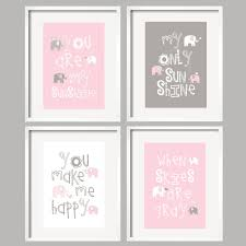 Pink Elephant Nursery Decor by Kids Bedroom 2 Twin Baby Girl Room Design With Wooden Cribs And