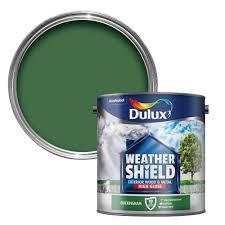 dulux weathershield exterior buckingham green gloss wood u0026 metal