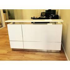 Gloss White Reception Desk Reception Desk Gloss White