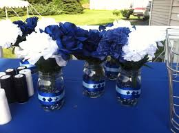 college graduation centerpieces villanova graduation party centerpieces by