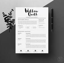 resume design template resume template flat design vector free