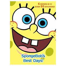 spongebob u0027s best days dexluxe jumbo coloring and activity book