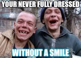 Ugly Smile Meme - ugly twins meme imgflip