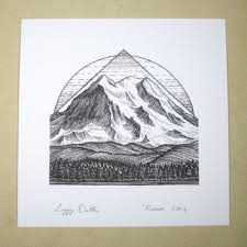 best black and white ink drawings products on wanelo