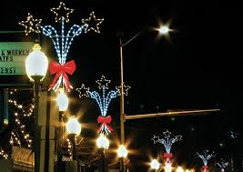 light post decorations lights card and decore