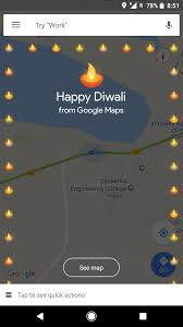 Happy Maps Google Maps Goes Glocal Sends Out A Happy Diwali Greeting For