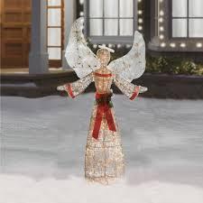 lighted christmas yard angels 57 indoor outdoor lighted christmas angel christmas tree shops