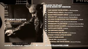 Jimmy Barnes Official Website Jimmy Barnes Hindsight Teaser Youtube