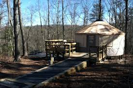 Georgia State Parks Map by Yurt Village Opens At Cloudland Canyon State Park On Lookout