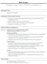 assistant resume template this is assistant resume sles sle resume