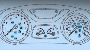 ford focus light on dashboard ford mk6 dashboard warning lights symbols what they