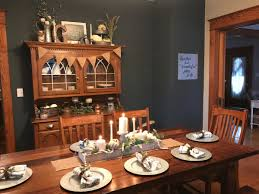 dining room hutch makeover and the beginning of my fall home decor