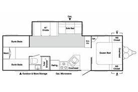 Springdale Rv Floor Plans 2009 Keystone Rv Springdale 19038 Colton Rv