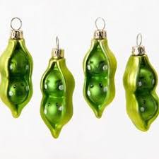 peas in a pod ornament athens parthenon poland glass christmas ornament