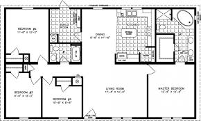 Ranch House Floor Plans With Basement Luxury Idea 1400 Square Feet House Floor Plans 14 To 1599 Sq Ft