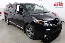 toyota new 2017 new 2017 toyota sienna se premium mini van passenger in escondido