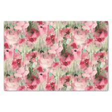 floral tissue paper vintage floral craft tissue paper zazzle