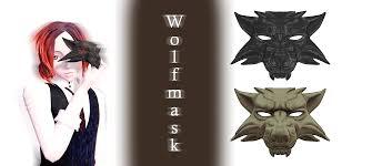 Wolf Mask Mmd Wolfmask Dl By Joanagnes On Deviantart