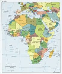Blank Map Of Africa by Various Maps Showing How Big Africa Is