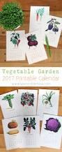 Vegetable Garden Planting Calendar by Free 2017 Vegetable Garden Calendar A Piece Of Rainbow
