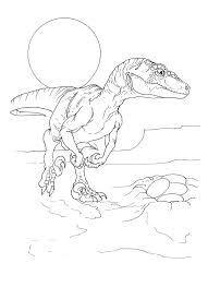 velociraptor color pages ankylosaurus coloring book pages for