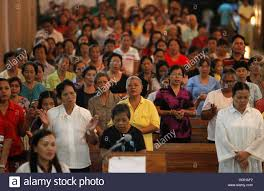 catholic thanksgiving prayers residents attend a mass at a roman catholic church where they held
