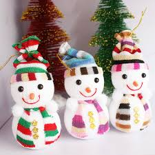 Buy Christmas Decorations Wholesale by Aliexpress Com Buy Christmas Snowman Doll Christmas Tree