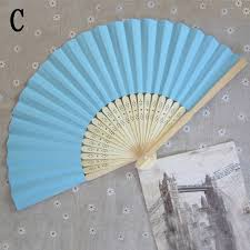 wedding paper fans summer paper fans pocket folding bamboo fan wedding