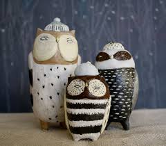 owl kitchen canisters ceramic owl canister set made to order my and