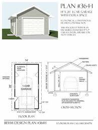 amazon com garage plans 1 car garage plan 364 1 14 x 26 amazon com garage plans 1 car garage plan 364 1 14 x 26 one car home kitchen
