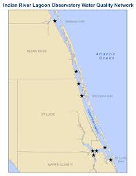 Indian River Florida Map by Water Quality Monitoring Units Successfully Installed In The St