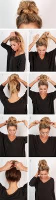 Frisuren F Lange Haare Einfach Und Schnell by Die Besten 25 Einfache Frisuren Ideen Auf Einfache