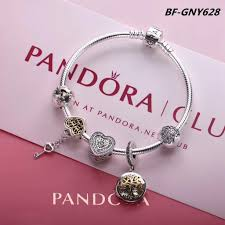 pandora bracelet with charms images Pandora bracelet with 5 pcs simple deluxe charm JPG