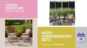 Patio Furniture Conversation Sets Clearance by Patio Conversation Sets Clearance Target Furniture Best Deals