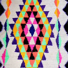 Rugs From Morocco Azilal Rugs From Morocco Handmade Carpet With Neon Patterns Berber