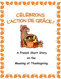célébrons l de grâce thanksgiving story