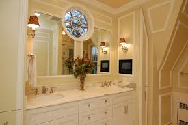 interior wood framed mirrors for bathroom art deco bathroom