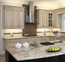 Black Stone Backsplash by Kitchen Ceiling Lights Electric Range Range Hood Glass Window