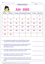 grade 1 math word problems worksheets reading calendar worksheets with word problems