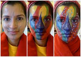 fotd makeup inspired painting u2014 mufe flash palette