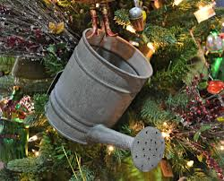 christmas garden watering can ornament christmas pinspiration