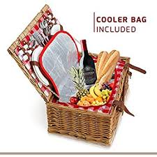 picnic basket for 4 picnic basket for 4 29 kit includes wicker