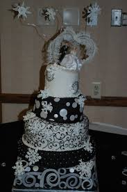 wedding cakes wi wedding cakes black silver tamara s cakes oshkosh wisconsin