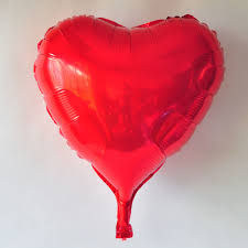 halloween foil balloons party balloons wholesale 36 inch rose red heart foil balloon