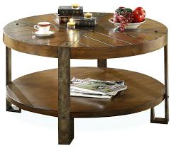 coffee table round leather ottoman leather cocktail ottoman